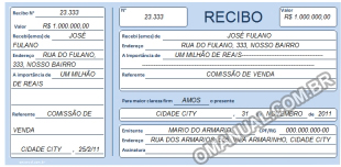 Recibo (Excel)
